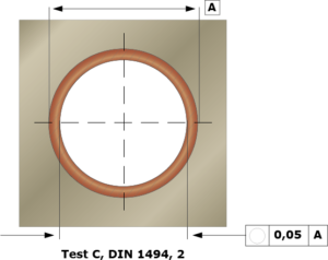 Handhavande och montering, dimensionskontroll.